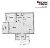 RENOVIERT! Geräumige 3 Zi. Wohnung mit EBK und Balkon