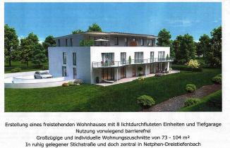 Erdgeschosswohnung in Netphen  - Dreis-Tiefenbach
