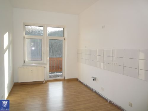 Toll geschnittene Wohnung mit großem Balkon, Wohnküche und Bad mit Wanne! Zentrale Lage!