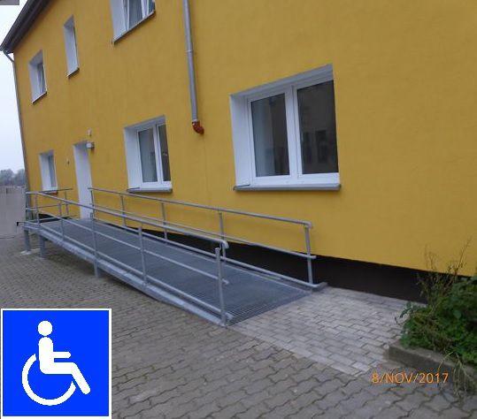 Rollstuhlgerechtes Wohnen - Jüterbog  Nähe am Bahnhof