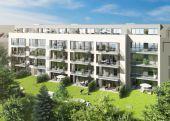 Neubau in Eppendorf: 3 - Zi. Wohnung im EG mit Gartenanteil