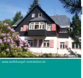 ruhige Etagenwohnung in Oberbärenburg mit Garten und Sauna