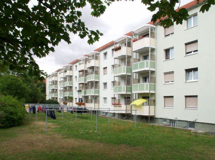 Hochwertige 3-Raum-Wohnung mit Balkon