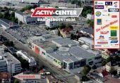 Einzelhandel/ Dienstleistung im modernen ACTIV-Center Bad Mergentheim