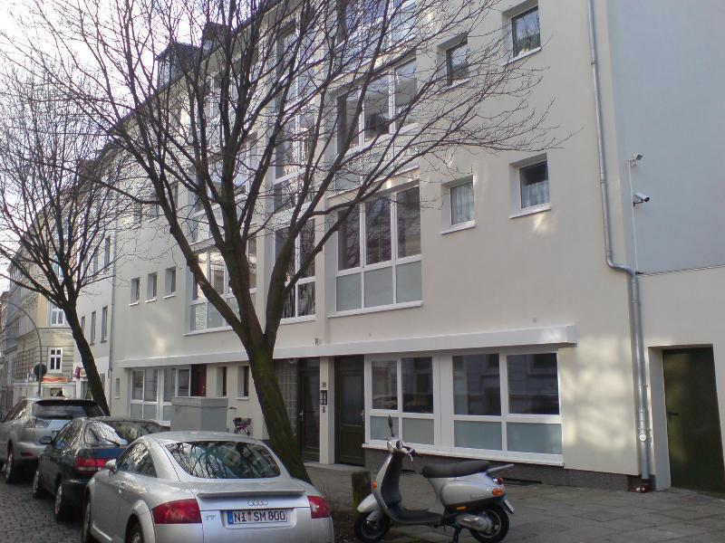 Sehr ruhige 2-ZWhg in Altona-Altstadt mit kleiner Terrasse