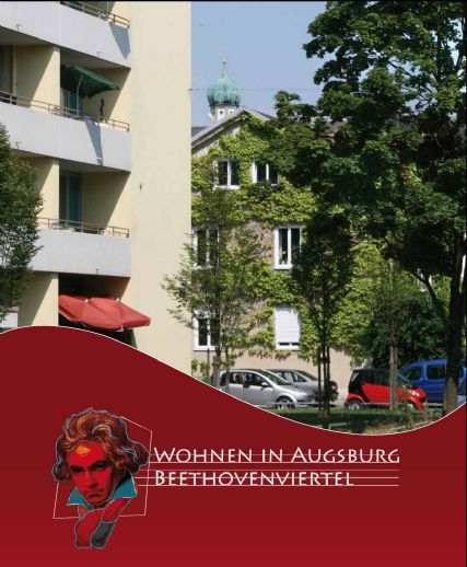 Wohnen in Beethofenviertel! 2 Zimmer Wohnung mit einem großen Balkon und TG-Stellplatz! Gerne WG!
