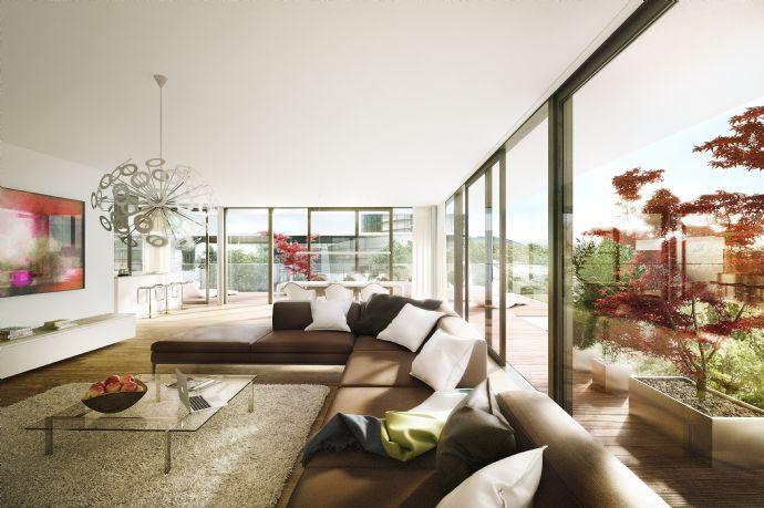 1./11 Ein Traum: Penthouse über 2 Etagen - 4 Zimmer und 80 m² großer luxuriöser Süd/West-Terrasse
