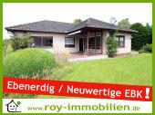 +++ Winkel-Walmdachbungalow, neuwertige Küche, ebenerdig bewohnbar, Bad...