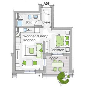 Etagenwohnung in Nürnberg  - Gärten b Wöhrd