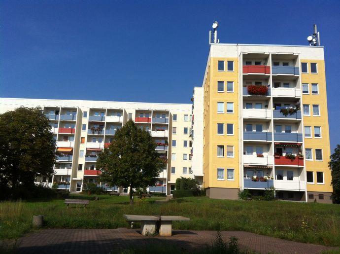Sanierte 4-R.-Wohnung mit Balkon nahe dem Elbecenter