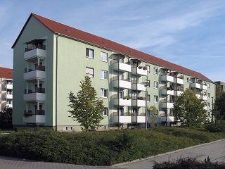 3 Raum Wohnung mit Balkon in Merzdorf
