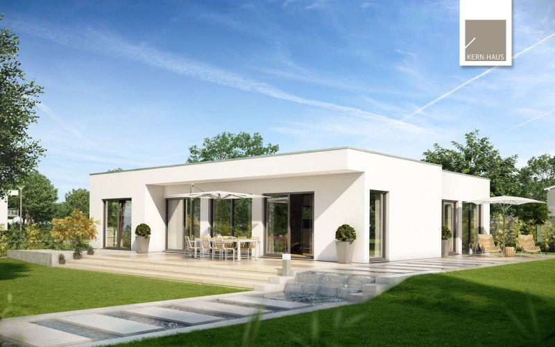 Extravaganter Bungalow im Bauhaus-Stil - Die pure Art zu leben! (KfW-Effizienzhaus 55)
