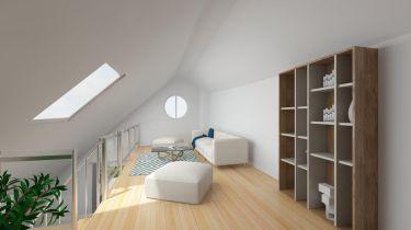 Dachgeschosswohnung in Karlsfeld