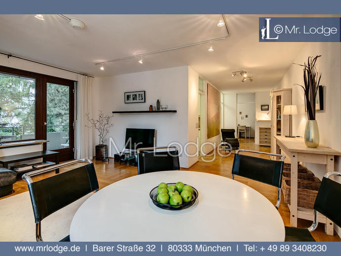 MRLODGE.DE Sehr schöne möblierte 3-Zimmer Wohnung in München Pasing