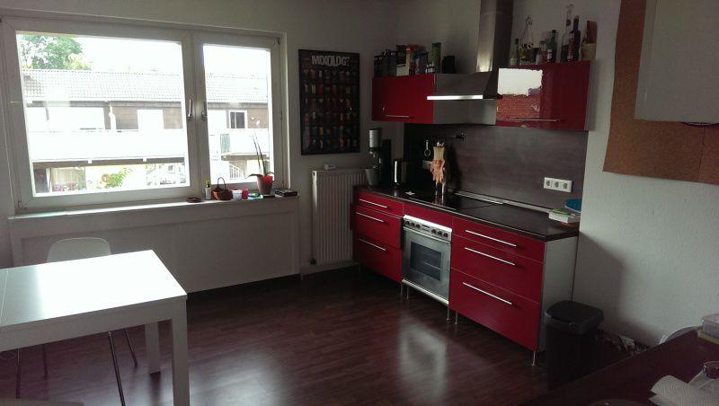 Wilkommen im renovierten Heim! helle 1 Zimmer-Wohnung plus Wohnküche in Düsseldorf-Derendorf