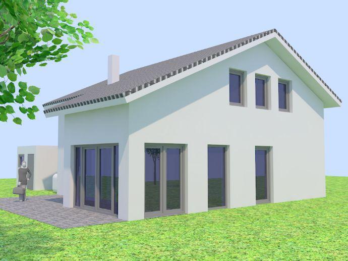 Grundstück Mit Haus, Modern Und Massiv Bauen   Schlüsselfertig