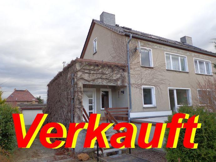 Einfamilienhaus - Doppelhaushälfte in einem Ortsteil von Bautzen wurde erfolgreich verkauft.