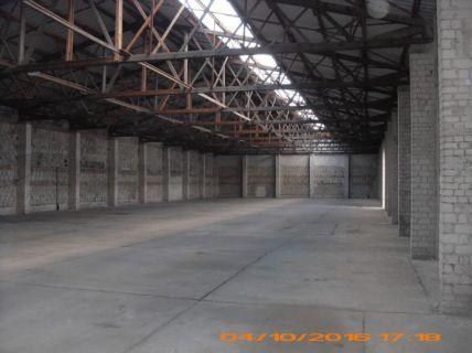 Lagerhalle in Kleinziethen