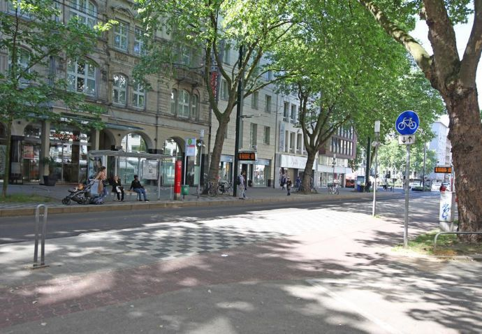 Vollständig modernisierte 2-Zimmer-Wohnung in der Nähe des Hauptbahnhofes Düsseldorf