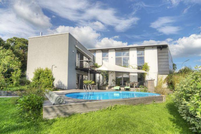 Architektenhaus im modernen Lifestyle