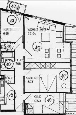 Dachgeschosswohnung in Bremen  - Neustadt