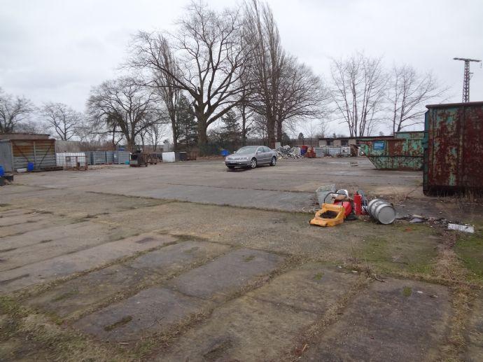 Freifläche Lagerplatz Lagerfläche bis 7000m² Stellplätze mit Büro Gewerbeobjekt Senftenberg nahe A13