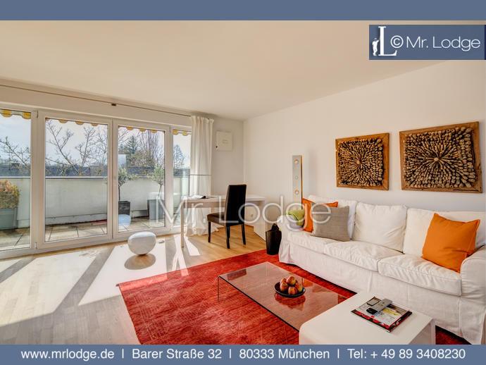 MRLODGE.DE Schöne 3-Zimmer-Wohnung mit Dachterrasse