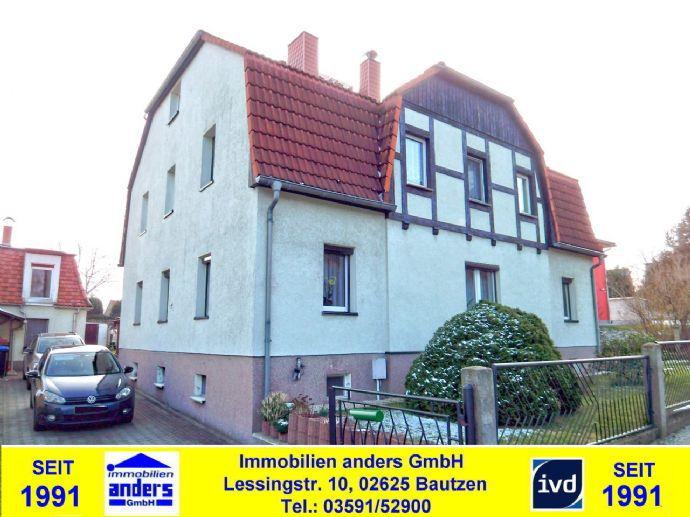 Modernes, voll unterkellertes EFH/ZFH mit überdachter Terrasse - Nebengelass - Garage in einem Ortsteil von Bautzen