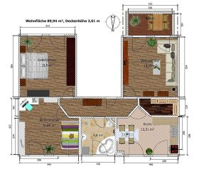 Etagenwohnung in Waldheim  - Waldheim