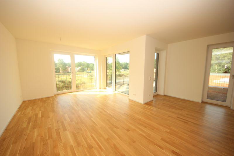 2-Zimmer-Neubauwohnung mit Blick ins Grüne!