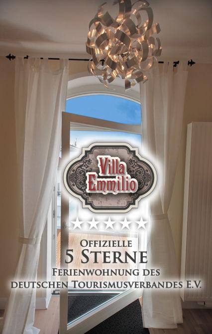 ::: 5 Sterne Wohnen auf Zeit/Ferienwohnungen in der Villa Emmilio : Möbelierte...