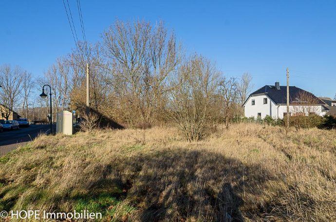 Erschlossenes Baugrundstück im Grünen in Stösitz bei Riesa
