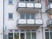 Dreiraumwohnung mit Balkon und zwei Stellplätzen