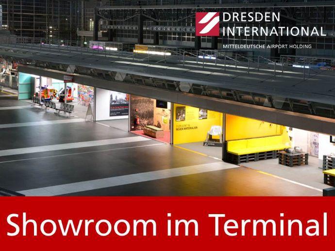 Showroom im Flughafen Dresden Terminal