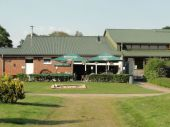 Cafe/Bistro mit Außenterrasse am Pferdesportzentrum Coesfeld