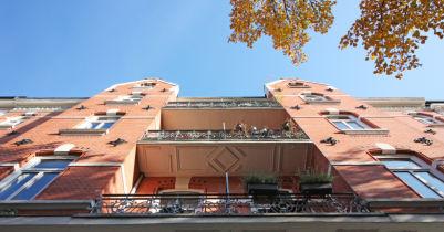 Dachgeschosswohnung in Hamburg  - Harvestehude