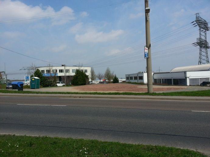 Gewerbl. Eigennutzer aufgepasst: Bauland in DD -West, neben VW-Autohaus ! www.cmdd.de
