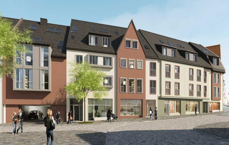 Neues Wohn- und Geschäftshaus in Idstein-Stadtmitte