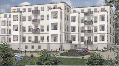 3,5-Zimmerwohnung mit Balkon!