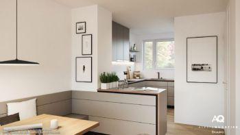 Top Moderner offener Wohnbereich, 2 große Kinderzimmer, 2 Bäder und BP57