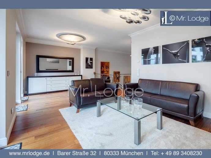 MRLODGE.DE Premiumwohnung für höchste Ansprüche: 3,5-Zimmer Maisonettewohnung in München Maxvorstadt