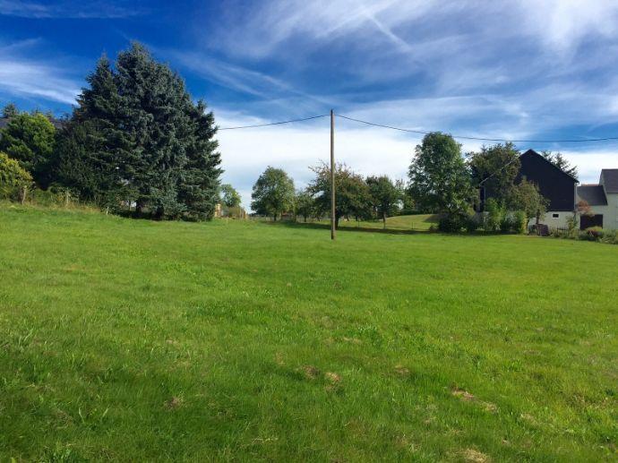 Sonniger Bauplatz für Bungalow-EFH bis Stadtvilla