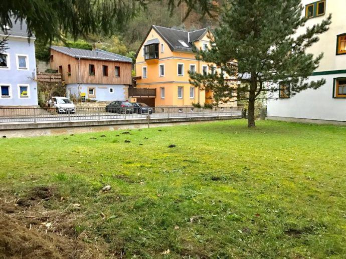 Baulücke in der Sächsischen Schweiz für 1-2 Familienhaus