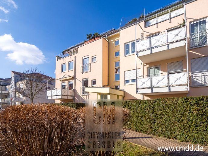 Erstklassig - Radeberger Vorstadt! Balkon, Wanne, TG, Abstellraum! www.cmdd.de