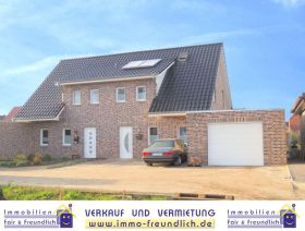 Doppelhaushälfte in Westoverledingen  - Völlenerfehn