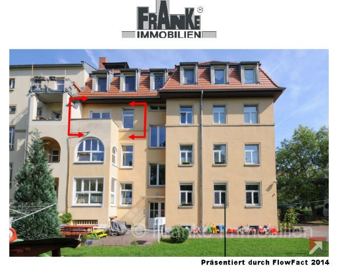 Striesen - sonnige 2-Zi.-Wohnung mit Westbalkon und Blick ins Grüne