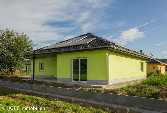 Hochwertig ausgestatteter Bungalow zum Erstbezug in Nieschütz (Einfamilienhaus) TOP