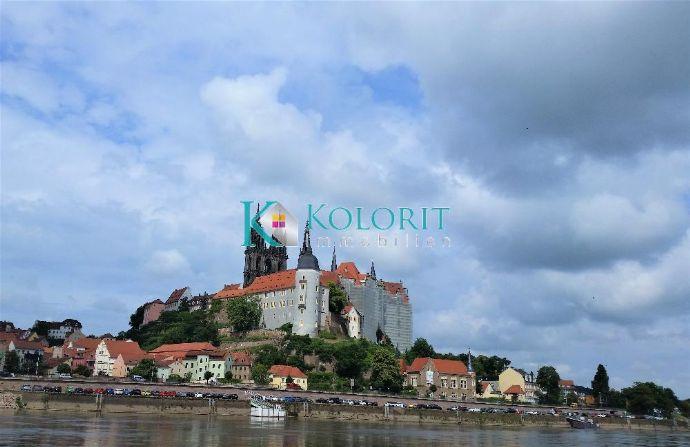 Letztes Baugrundstück mit exklusiven Blick über die Meißener Altstadt hin zum Dom