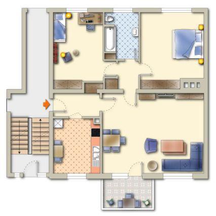 3-ZIMMER-Wohntraum mit Küche