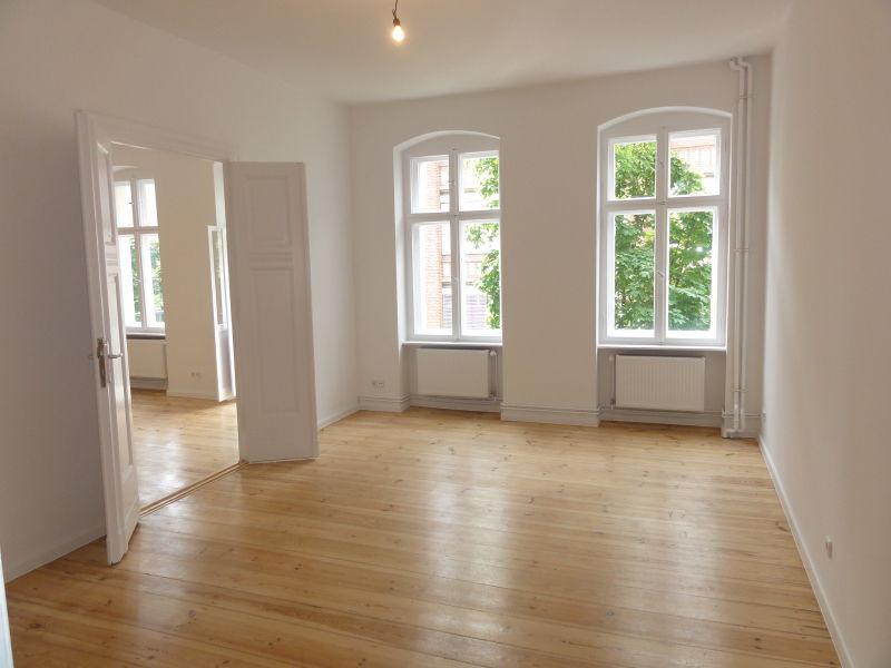 *NEU* frisch sanierte 3-Zimmerwohnung mit Balkon in Tiergarten/ am S-Bhf. Beusselstraße (S-Ring)